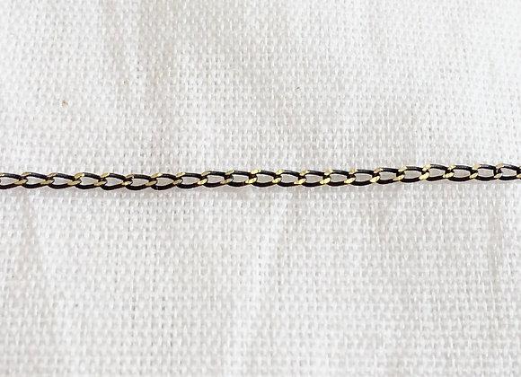 Corrente 0.35mm Groumet Longa Diamantada - Pacote com 25 metros