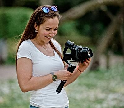 Juliane Düll, Produzentin von Freuentränen Films, Hochzeitsvideos/Hochzeitsfilme
