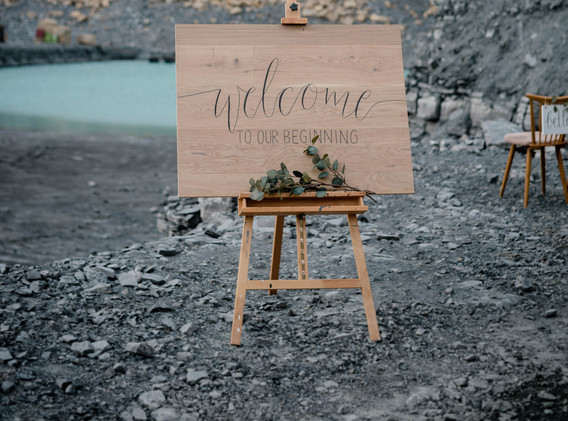 Welcomeschild