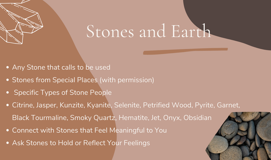 Stones and Earth