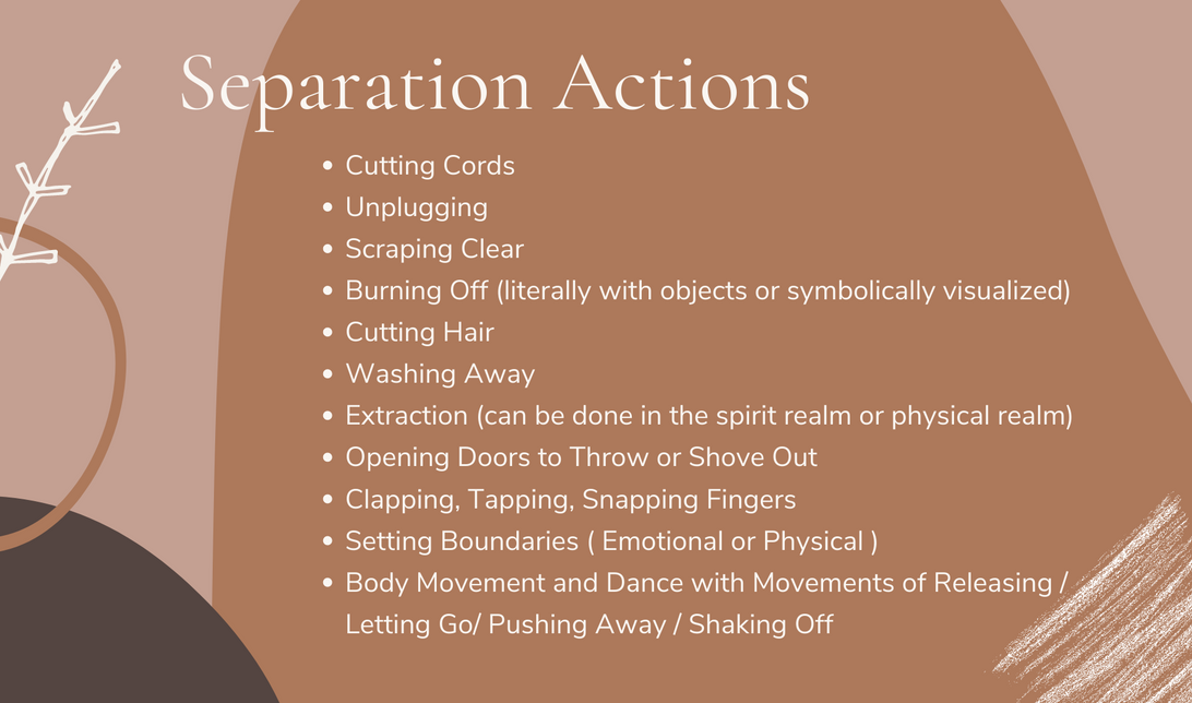 Separation Actions