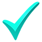 green-tick-png-turquoise-tick-check-mark