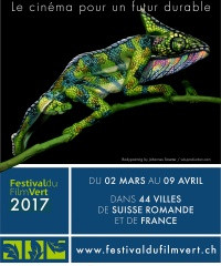 Le 12e Festival du Film Vert, les 8 et 9 Avril à la Touvière!