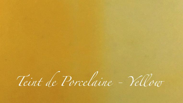 Yellow - Couleur porcelaine portrait - 10g