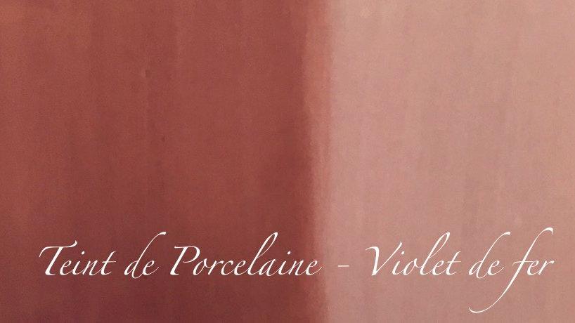 Violet de fer - Couleur porcelaine portrait - 5 g
