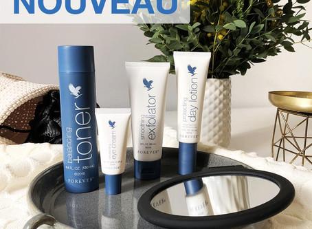 Nouvelle gamme de soins visage