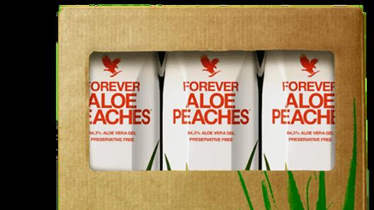 Aloe Pêche - TRIPACK - Forever buvable