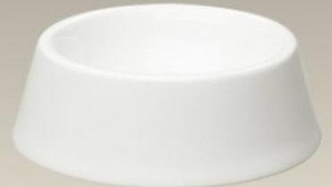 Gamelle pour chien en porcelaine blanche