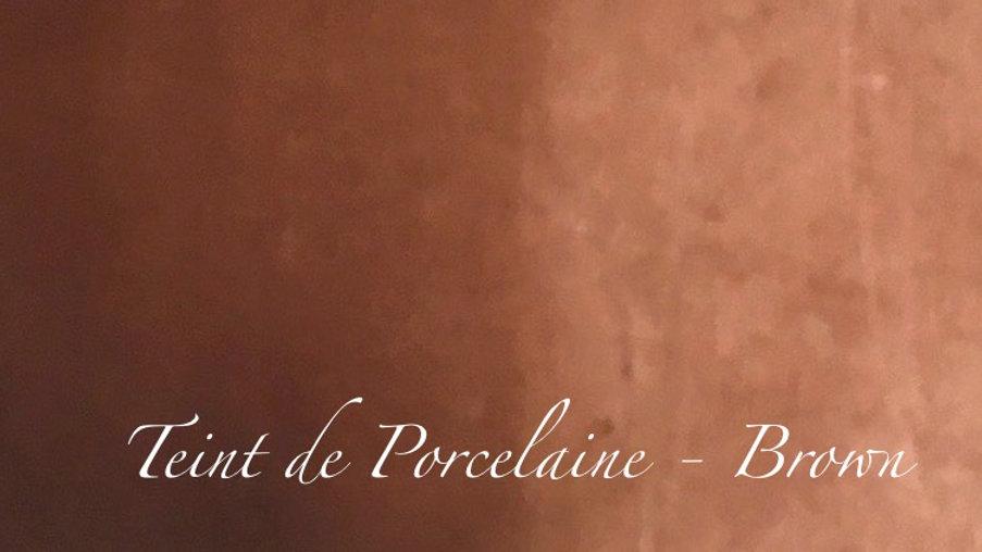 Brown - couleur porcelaine portrait - 10g