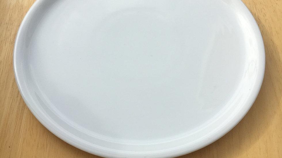 Plat à tarte 31 cm - porcelaine blanche