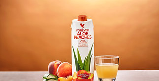 Aloe Pêche - Forever buvable