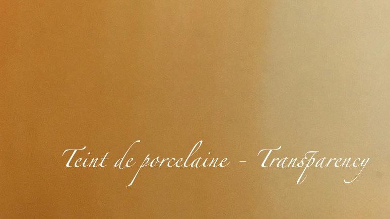 Transparency - couleur porcelaine portrait - 10g