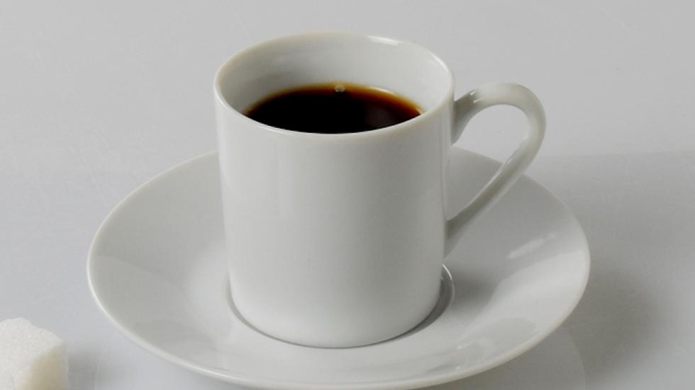 Tasse à café Empire - porcelaine blanche - 10cl