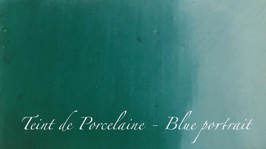 Blue Portrait - Couleur porcelaine portrait - 10g