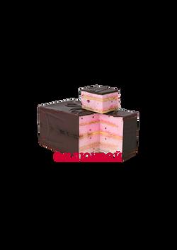 Торт «Птичье молоко» с клюквой