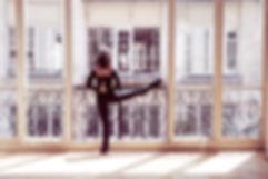 Ballerina - yoga - Carole MELOSI