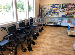 Wheelchairs, Walkers, and Cushions