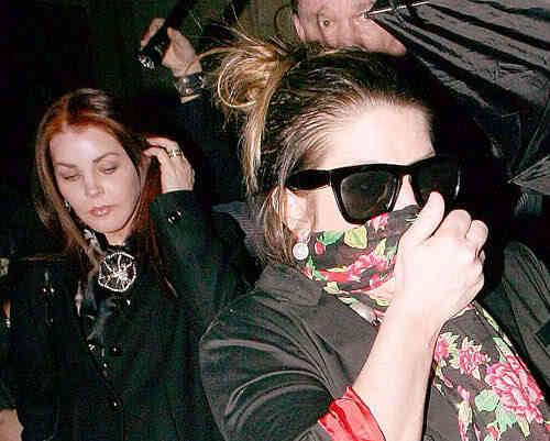 Priscilla Presley & Lisa Marie Presley