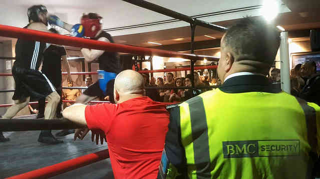 London Fights at Urban Kings Gym