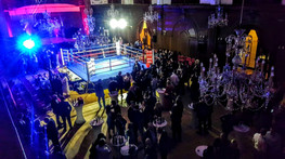 An evening of white collar amateur boxing in aid of Mental Health Awareness