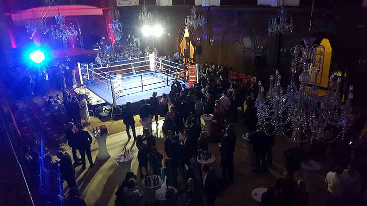 The Big Fight UK at Porchester Hall