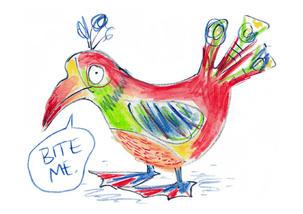 Bite Me Bird