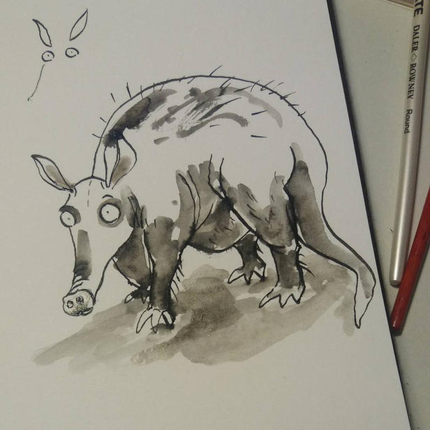 Aardvark sketch