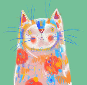 Painty cat
