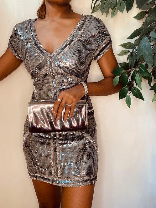 Sequin Dress, Size S