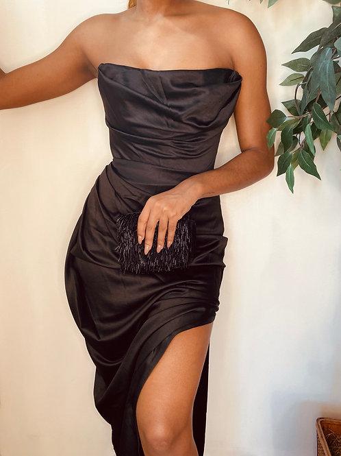 Black Corset Gown, Size S