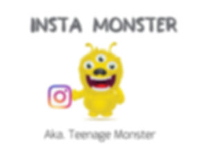 The Insta Monster - The Savvy Little Mon