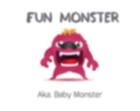 The Fun Monster - The Savvy Little Monst