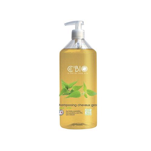Shampooing cheveux gras 500 ml Cébio
