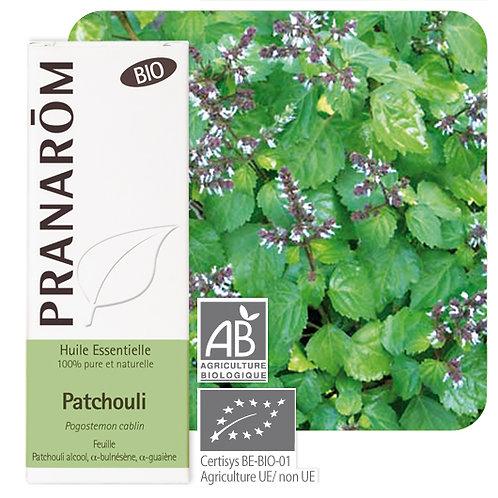 Huile essentielle Patchouli - feuille BIO 10 ml