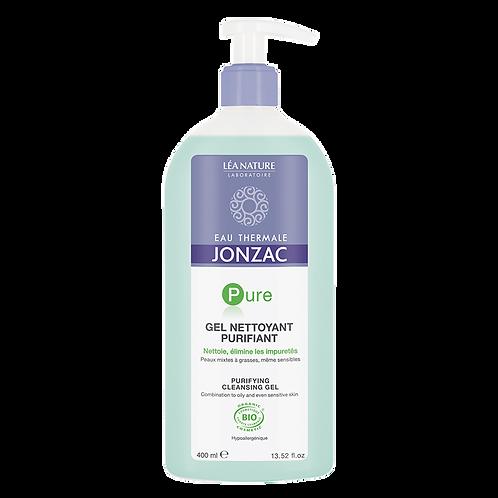 Pure - Gel nettoyant purifiant bio - 400ml Jonzac