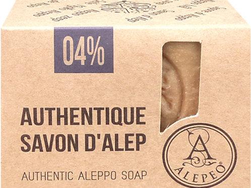Savon Alep 4 % 200 gr
