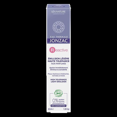 REactive -Emulsion légère haute tolérance bio- 40ml Jonzac