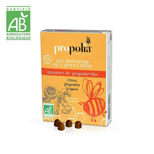 Gommes Propolis Bio Gingembre-Citron 45 gr
