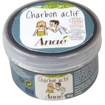 Charbon actif poudre 30g pot