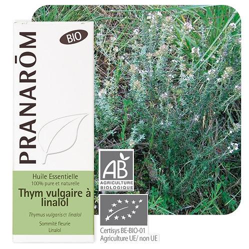 Huile essentielle Thym vulgaire à linalol - sommité fleurie BIO 5 ml