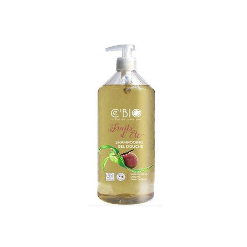 Shampooing douche fruits d'été 500 ml Cébio