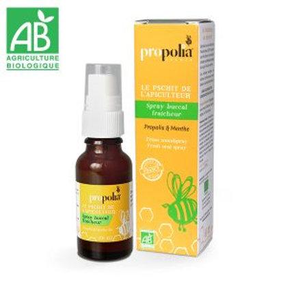 Spray Buccal Fraicheur Propolis et Menthe Bio 20 ml