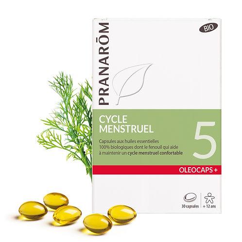 Oléocaps 5 - Cycle menstruel BIO 30 capsules