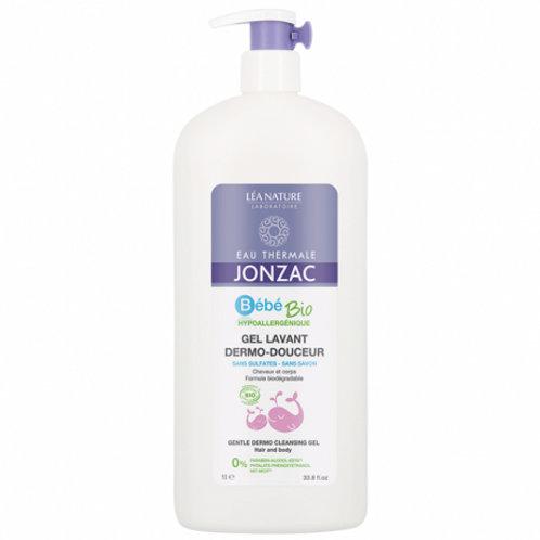 Bébé - Gel lavant dermo-douceur bio - 1 L Jonzac