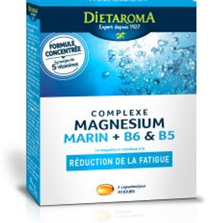 Magnésium marin 60 caps.