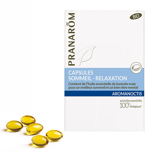Capsules : Sommeil - Relaxation