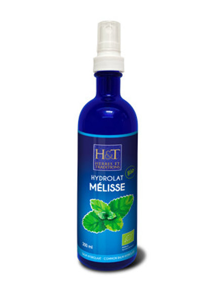 Eau florale 100 % pure MELISSE Bio 200 ml