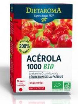 Acérola 1000 24 compr. goût cerise