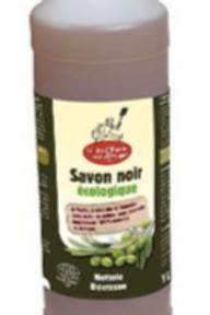 SAVON NOIR LIQUIDE A L'HUILE D'OLIVE BIO 1L