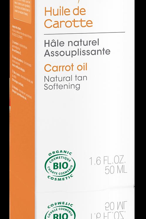 Huile de beauté : huile de carotte 50 ml